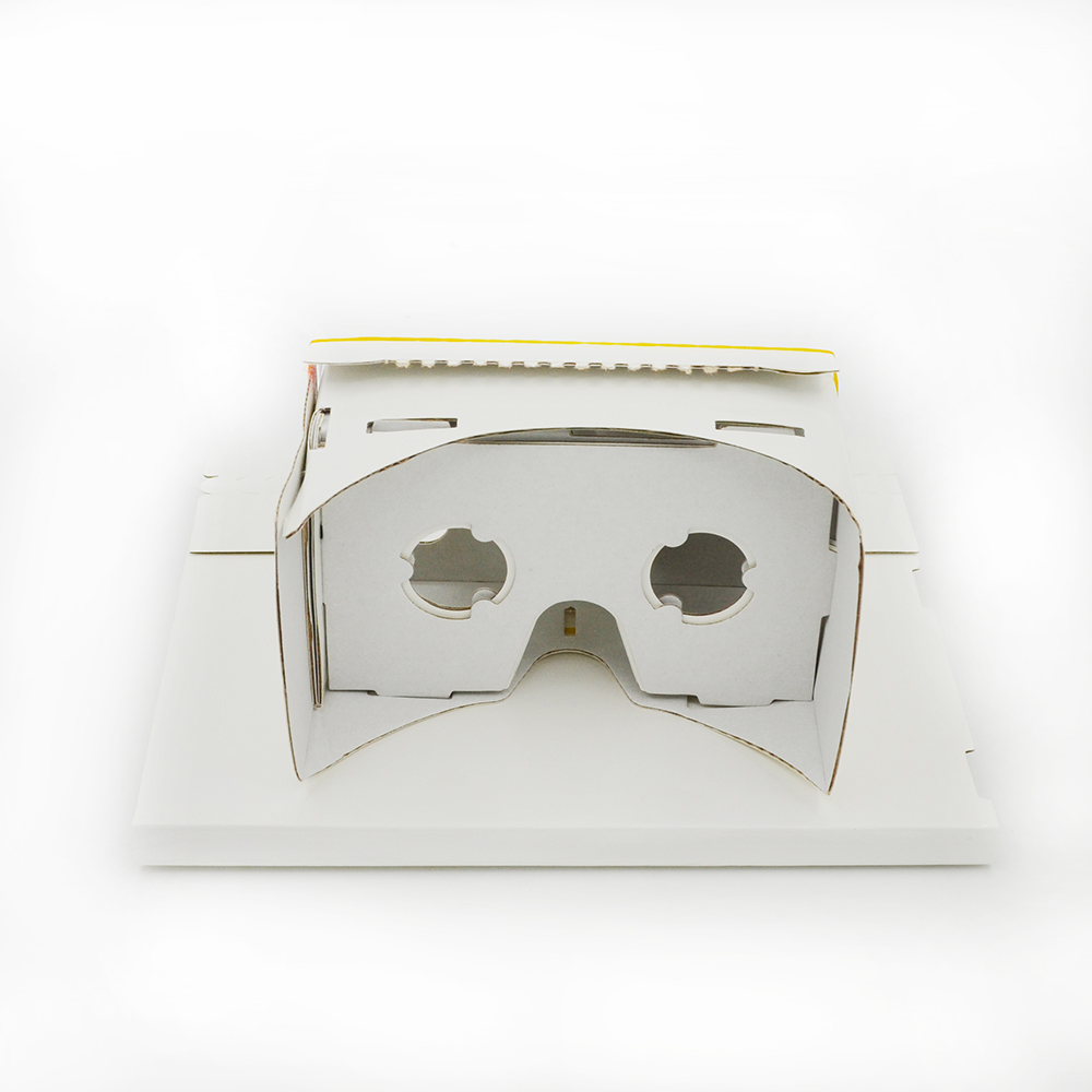 Samples of VR glasses inspired by Google Cardboard - Daydream LT